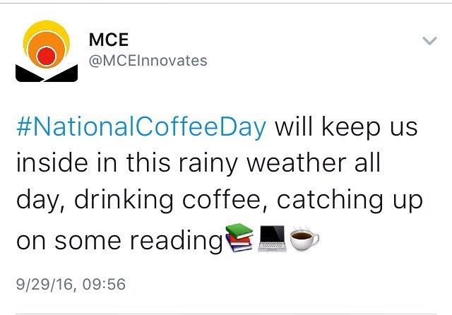 📚💻☕️ #nationalcoffeeday