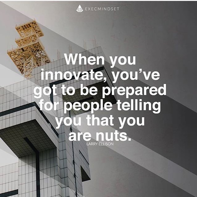 There's a fine line between being nuts and being innovative, some days you spend time on both sides. But either way when you have a goal, you need to find ways to reach it, to be successful, to help others. #innovate #entrepreneur #entrepreneurs #entrepreneurship #motivation #execmindset #maricopa #maricopainnovates